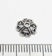 Circles bead caps x 20. 8mm
